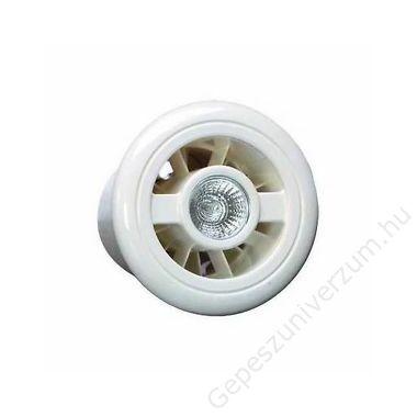 188610 VENTILL.LUMINAIR H axiális kishelységventilátor+világítás+páraé., fehér