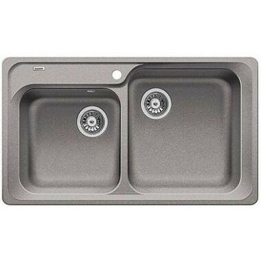 BLANCO CLASSIC 8 kétmedencés mosogató alumetál