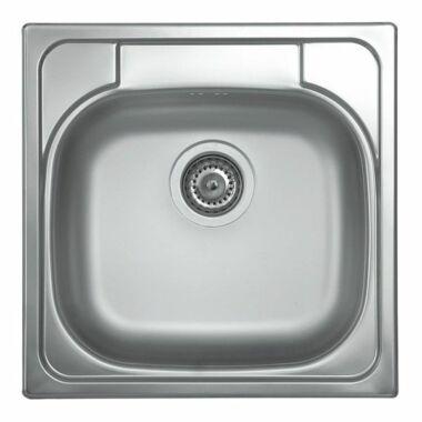 """LIVINOX rozsdamentes panel mosogató jobb oldali csaplyukkal 3 1/2"""""""